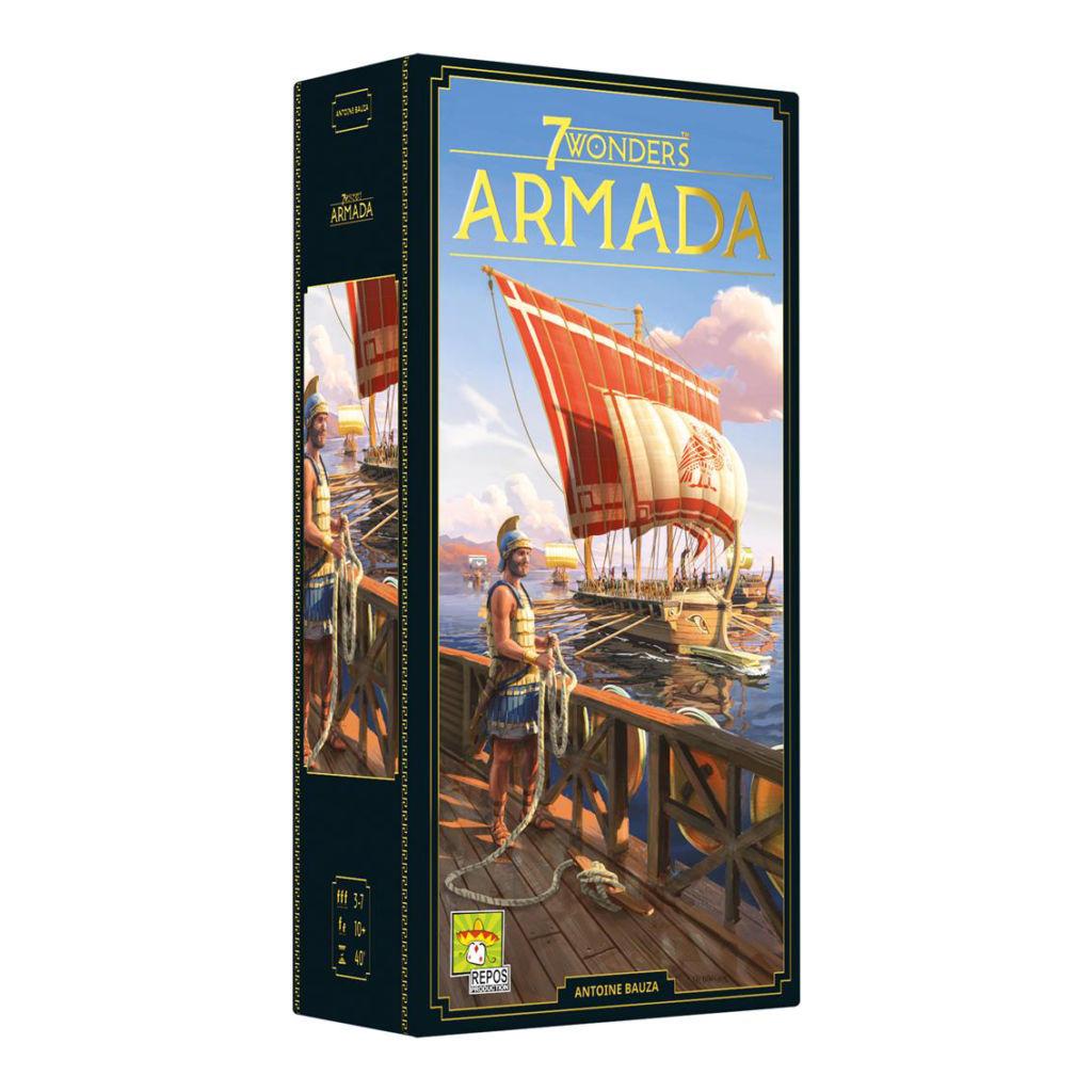 7 Wonders, Armada (2ème édition) (extension)
