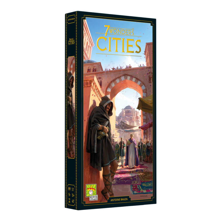7 Wonders, Cities (2ème édition) (extension)