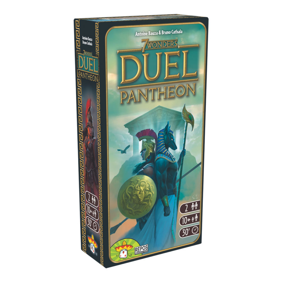 7 Wonders Duel, Pantheon (extension)
