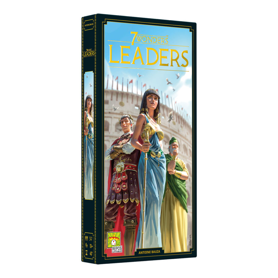 7 Wonders, Leaders (2ème édition) (extension)