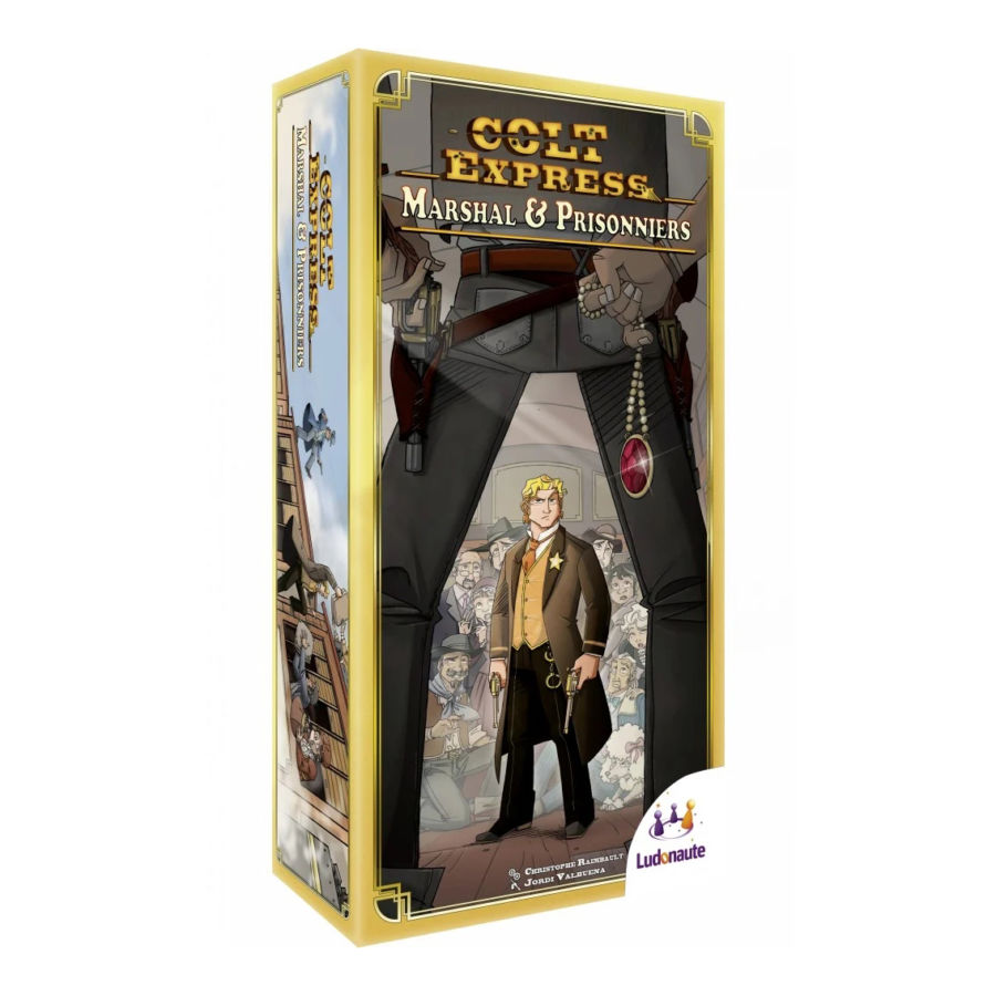 Colt Express, Marshal et Prisonniers (extension)