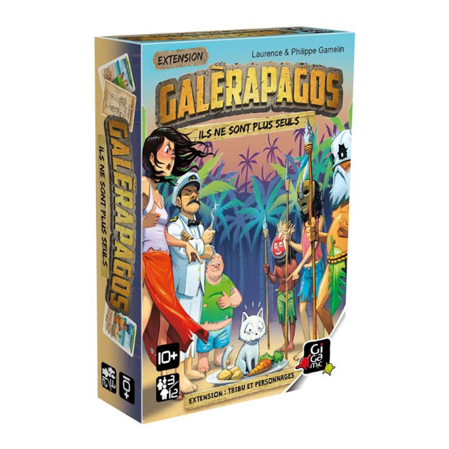 Galèrapagos, Tribu et Personnages (extension)