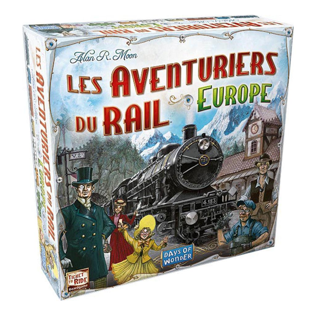 Les Aventuriers du Rail, Europe