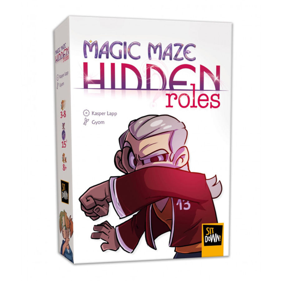 Magic Maze, Hidden Roles (extension)